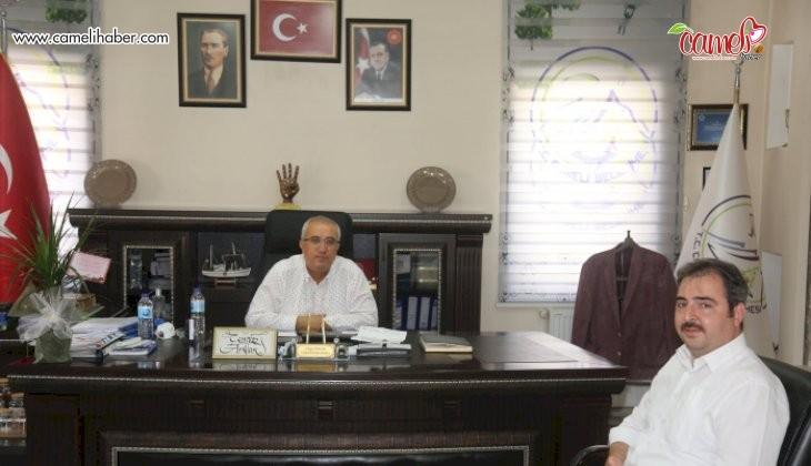 İlçe Müftüsünden Belediye Başkanına Ziyaret